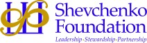 Shevchenko Foundation logo with tagline